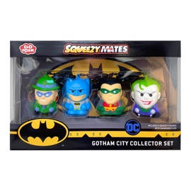 Batman SqueezyMates 4-Figure Set