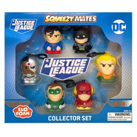 Justice League SqueezyMates 6-Figure Set