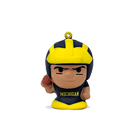 Michigan Wolverines SqueezyMates Figure