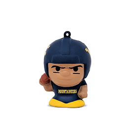 West Virginia Mountaineers SqueezyMates Figure