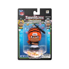 Cincinnati Bengals TeenyMates Candy Dispenser