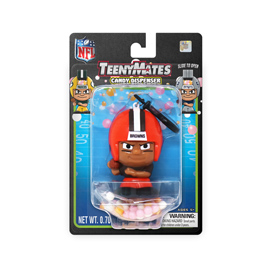 Cleveland Browns TeenyMates Candy Dispenser