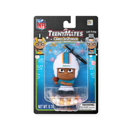 Miami Dolphins TeenyMates Candy Dispenser