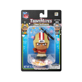 San Francisco 49ers TeenyMates Candy Dispenser
