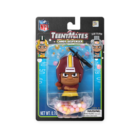 Washington Redskins TeenyMates Candy Dispenser