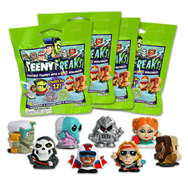 4 Blind Packs, TeenyFreaks Series 1