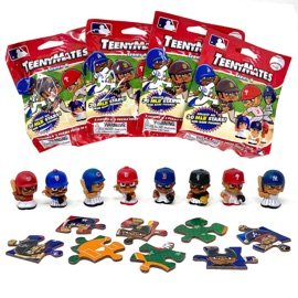 TeenyMates MLB Series 8 4-Pack Bundle