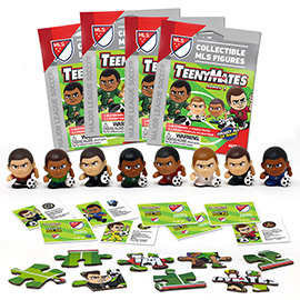 4 Blind Packs, TeenyMates MLS Series 1