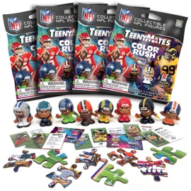 4 Blind Packs, TeenyMates NFL Series 8
