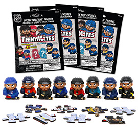 4 Blind Packs, TeenyMates NHL Series 4