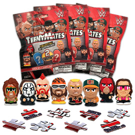 4 Blind Packs, TeenyMates WWE Series 1