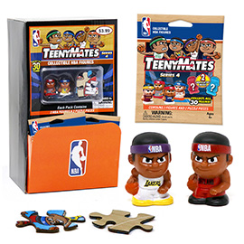 TeenyMates NBA Series 4 Gravity Feed