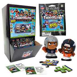 TeenyMates NFL Series 6 Gravity Feed