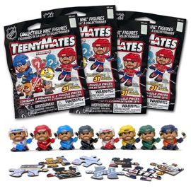 4 Blind Packs, TeenyMates NHL Series 6