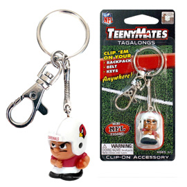 Arizona Cardinals TeenyMates Tagalong Keychain