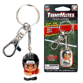 Atlanta Falcons TeenyMates Tagalong Keychain