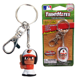 Baltimore Orioles TeenyMate Tagalong Keychain