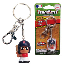 Boston Red Sox TeenyMate Tagalong Keychain