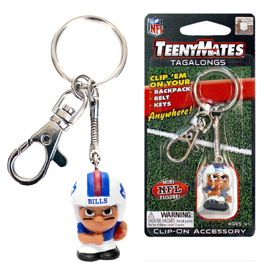 Buffalo Bills TeenyMates Tagalong Keychain
