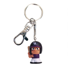 Colorado Rockies TeenyMate Tagalong Keychain