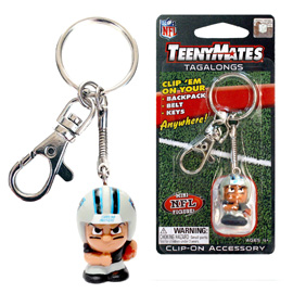 Carolina Panthers TeenyMates Tagalong Keychain