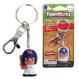 Chicago Cubs TeenyMate Tagalong Keychain