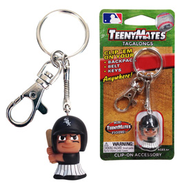 Chicago White Sox TeenyMate Tagalong Keychain