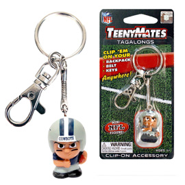 Dallas Cowboys TeenyMates Tagalong Keychain