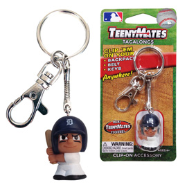 Detroit Tigers TeenyMate Tagalong Keychain