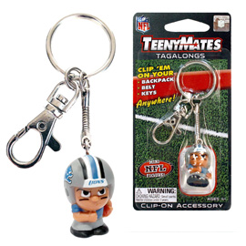 Detroit Lions TeenyMates Tagalong Keychain