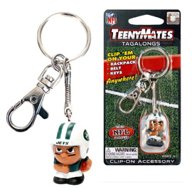 New York Jets TeenyMates Tagalong Keychain