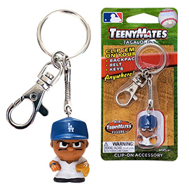 Los Angeles Dodgers TeenyMate Tagalong Keychain