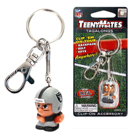 Las Vegas Raiders TeenyMate Tagalongs Keychain