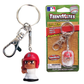 St. Louis Cardinals TeenyMate Tagalong Keychain
