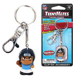 Tennessee Titans TeenyMates Tagalong Keychain