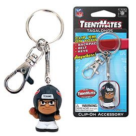 Houston Texans TeenyMates Tagalong Keychain