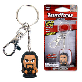 WWE Roman Reigns TeenyMates Tagalong Keychain