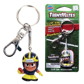 Michigan TeenyMates Tagalong Keychain