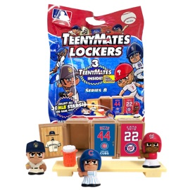 TeenyMates MLB Series 8 Locker Room Set