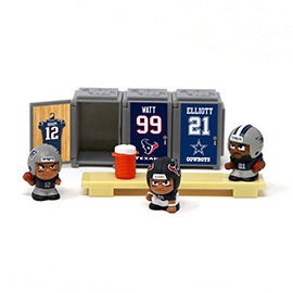 TeenyMates NFL Series 6 Locker Room Set