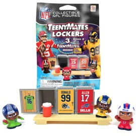 TeenyMates NFL Series 8 Locker Room Pack