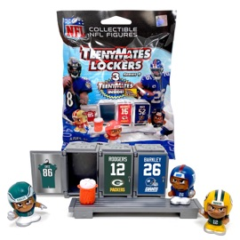 TeenyMates NFL Series 9 Locker Room Pack