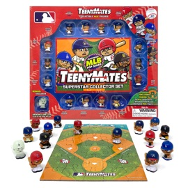 TeenyMates MLB Superstar Collector Set