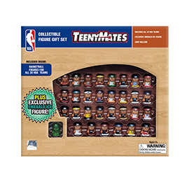 TeenyMates NBA Gift Set, 30 NBA Mini Team Figures