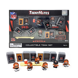 Cincinnati Bengals TeenyMates Team Set