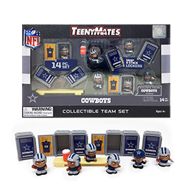 Dallas Cowboys TeenyMates Team Set