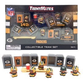 Green Bay Packers TeenyMates Team Set
