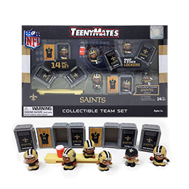 New Orleans Saints TeenyMates Team Set