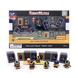 Los Angeles Rams TeenyMates Team Set