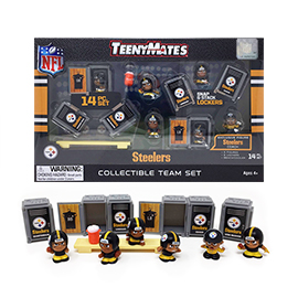 Pittsburgh Steelers TeenyMates Team Set